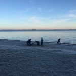 Frost-am-Strand